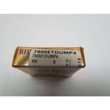 RHP Industrial Plain Bearings Distributor 635TQO900-1 Four row tapered roller bearings 7905ETDUMP4 7905ET DUM P4 Super Precision Bearing Single 1-Bearing