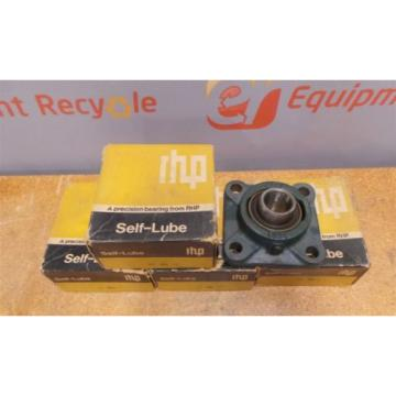 "RHP Industrial Plain Bearings Distributor 560TQO820-1 Four row tapered roller bearings 1"" 4 Bolt Flange Bearings SF3 New Lot of 5"