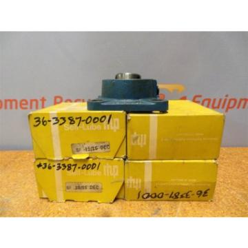 "RHP Industrial Plain Bearings Distributor LM288949DGW/LM288910/LM288910D Four row tapered roller 1"" 4 Bolt Flange Bearings SLF3 New Lot of 5"