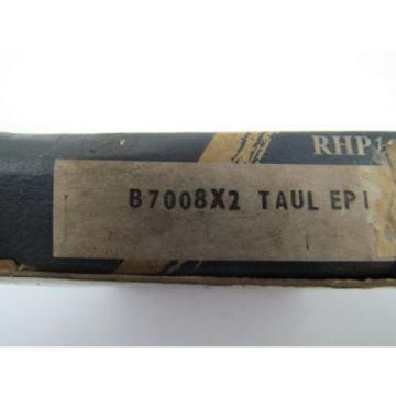 RHP Industrial Plain Bearings Distributor 710TQO1030-1 Four row tapered roller bearings B7008X2 TAUL EP 1 Angular Contact Ball Bearing