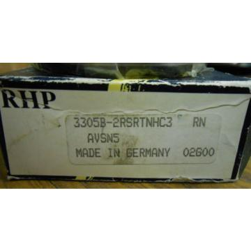"NEW Industrial Plain Bearings Distributor 560TQO820-1 Four row tapered roller bearings RHP BEARING 3305B-2RSRTNHC3  1"".......... WQ-16"