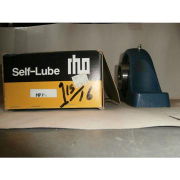 "Self-Lube Industrial Plain Bearings Distributor 530TQO750-2 Four row tapered roller bearings RHP 1055 1 15/16"" 2 Bolt Pillow Block Bearing Flange"
