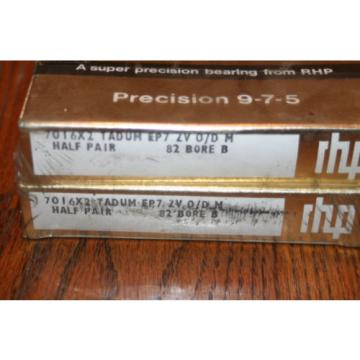 RHP Industrial Plain Bearings Distributor M274149D/M274110/M274110D Four row tapered roller bearings 7016X2 TADUM EP7 ZV Super Precision Bearings (CTDUMP4Y, 2MM9116WIDUM)  NEW