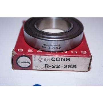 """NEW Industrial Plain Bearings Distributor M282249D/M282210/M282210D Four row tapered roller bearings  OLD"" Consolidated Ball Bearing R-22-2RS / RHP KLNJ 1-3/8 - 2ZEP1"