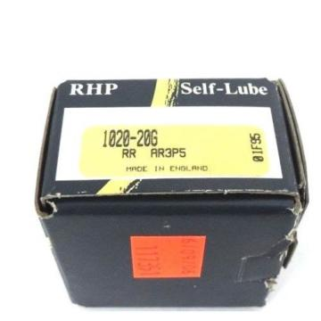 NIB Industrial Plain Bearings Distributor 680TQO1000-1 Four row tapered roller bearings RHP 1020-20G SELF-LUBE BEARING INSERT SELF LUBE 20X47X14MM, 102020G