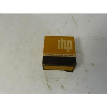 RHP Industrial Plain Bearings Distributor LM778549D/LM778510/LM778510D Four row tapered roller N4768AV2 Single Row Ball Bearing ! NEW !