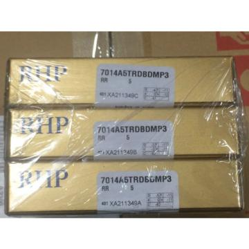 RHP. Industrial Plain Bearings Distributor LM286249D/LM286210/LM286210D Four row tapered roller 7014A5TRDBDMP3.SUPER PRECISION BEARING. SET OF 3!