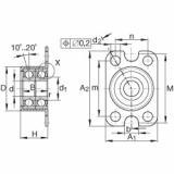 FAG Germany Angular contact ball bearing units - ZKLR0828-2Z