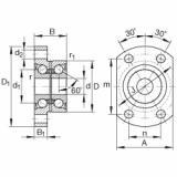 FAG Germany Angular contact ball bearing units - ZKLFA0640-2RS