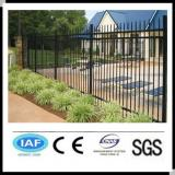 Wholesale alibaba China CE&ISO9001 powder coated steel fence(pro manufacturer)