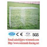 Alibaba China wholesale CE&ISO certificated hot galvanized+pvc coated gabion box(pro manufacturer)