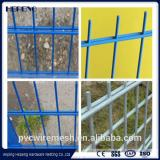Hepeng factory welded steel wire double wire fence