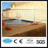 galvanized temporary swimming pool fence