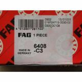 New FAG 6408-C3 NIB