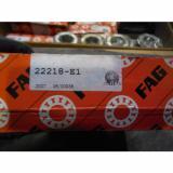 NEW FAG 22218-E1 SPHERICAL ROLLER BEARING