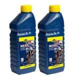 2 X 1 LITRE PUTOLINE MX5 TWO STROKE OIL synthetic  LITRE pre mix & injector