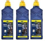 3 X  1 LITRE PUTOLINE MX7 TWO STROKE OIL full synthetic pre mix & injector