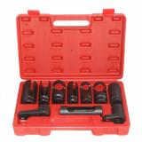 10 Pc. Sensor & Sending Unit Socket Set oxygen injectors oil pressure vacuum
