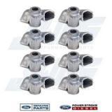 94-03 Ford 7.3 7.3L Powerstroke Diesel OEM Injector Oil Spout Deflector Set (8)