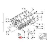 Genuine BMW E39 E52 Roadster Saloon Oil Spraying Injector OEM 11421407783