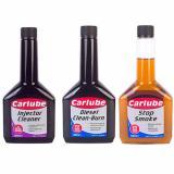 CARLUBE 3 Pack DIESEL CLEAN BURN + INJECTOR CLEANER + EXHAUST STOP SMOKE OIL