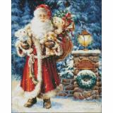 Needlework   Crafts Full Embroidery Counted Cross Stitch Kits 14 ct Bearing Gifts
