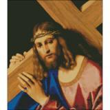 "Goldmilky   Cross stitch kit ""Christ (Jesus)Bearing the Cross""  17""x 20 inch  -a30"