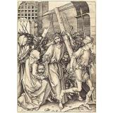 Schongauer   Reproduction: Bearing of the Cross & St. Veronica - Fine Art Print