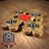 EDC   Spinner Bottony Cross Bar Fidget Toy