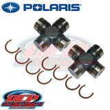 PURE   POLARIS 2009 - 2016 RZR 570 800 800 S OEM 2 PACK CROSS & BEARING U-JOINTS