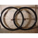 Carbon   road/gravel/cross wheels, 38mm deep, rim brake, ceramic bearings 24h/20h