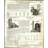 1930   AD Bevan Roller Bearing Water Well Pump Jack Red Cross Fruit Apple Press