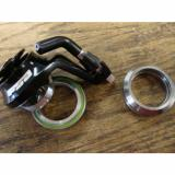 "New   FSA Orbit C CX Cross headset- Black 1 1/8"" Campy internal bearings w/ hanger"