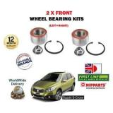 FOR   SUZUKI SX4 S CROSS 1.6 M16A 2013-> NEW 2 X FRONT WHEEL BEARING KIT SETS