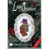 Designs   For The Needle - Counted Cross Stitch Lace Ornament 1267 Bearing Gifts