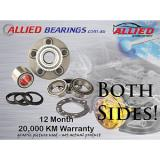 TWO   REAR WHEEL BEARING KIT SUIT VOLVO CROSS COUNTRY 00-02, S60 02-ON AWD - 4630