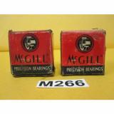 "Two (2) McGill CYR 1 5/8 S CAM YOKE ROLLER BEARING 1.625"" ROLLER, .4375"" BORE"