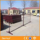 pvc coated canada used temporary fence panel for sale