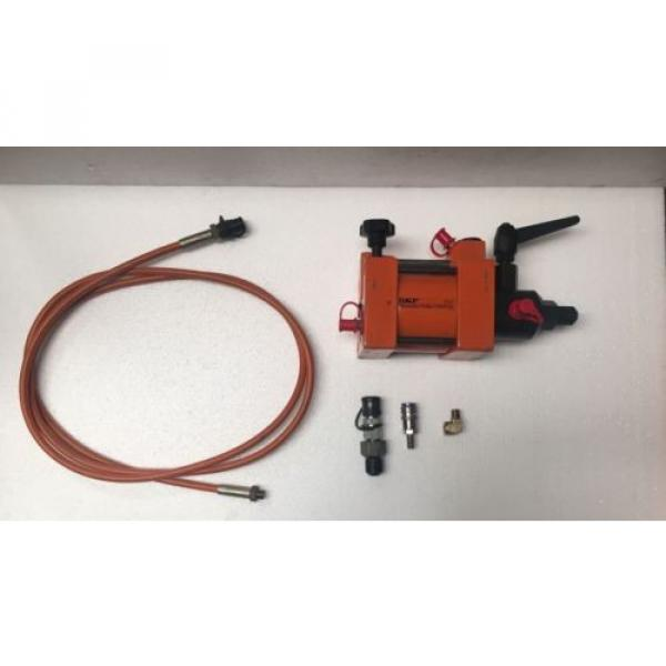 SKF THAP-150 AIR DRIVEN HYDRAULIC PUMP/AIR OPERATED PNEUMATIC OIL INJECTOR KIT #1 image