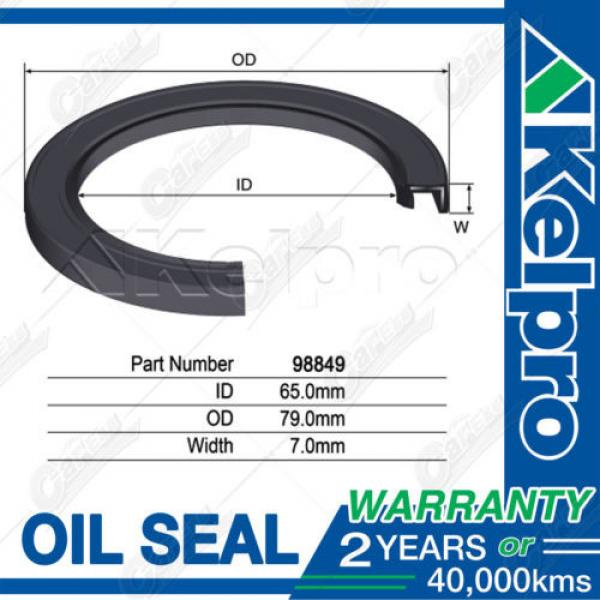 KELPRO Diesel Injector Pump OIL SEAL For TOYOTA HiAce KDH201 KHD221 KHD223 #1 image