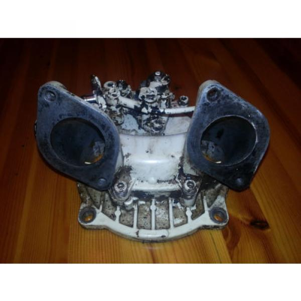 seadoo 787 rotax double oil pump injector-flange- valve cover #2 image