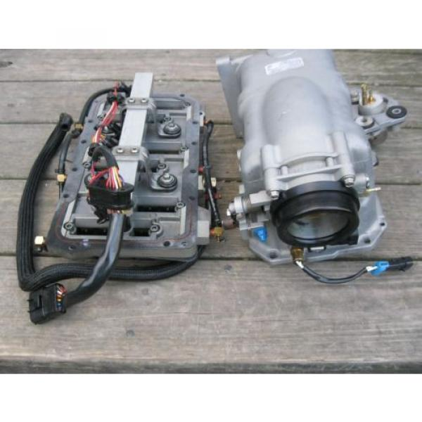 Mercury EFI Air Handler, Reeds, Injectors, Throttle body, Oil Pump & Plenum (JL) #5 image