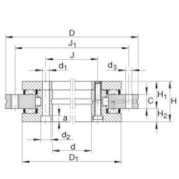 FAG Germany Axial/radial bearings - YRT1030