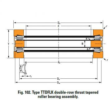 Bearing F21063C Thrust Race Double