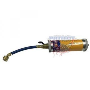 YELLOW JACKET 69562 (R-12) 4 oz. oil injector 1/4″ male flare x 1/4″ female Q.C.