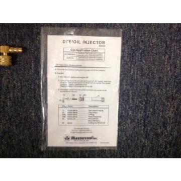 MASTERCOOL NJ53123-A DYE/OIL INJECTOR