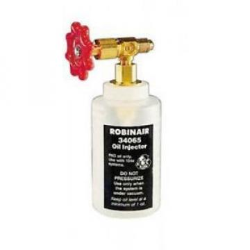 "Robinair 34065 R-134a Oil Injector with 1/2"" Acme Fitting"