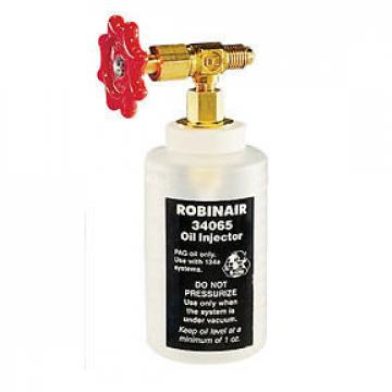 "R-134a Oil Injector with 1/2"" Acme Fitting Robinair 34065 ROB LP"
