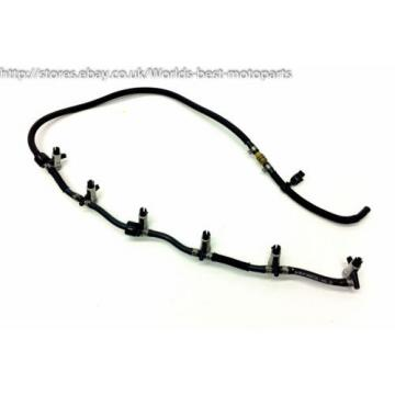 BMW E60 530d (1H) 5 SERIES Diesel Injector Overflow oil line7799869