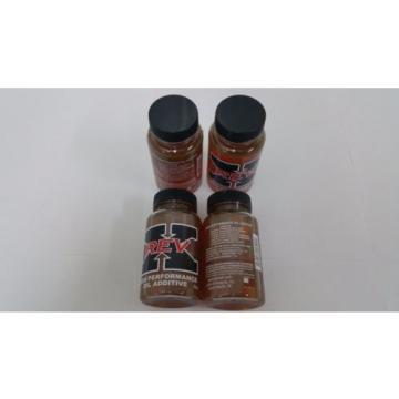 Rev-X Oil Treatment Additive (4) 4oz. Bottles Rev X Fix injector Stiction Heui
